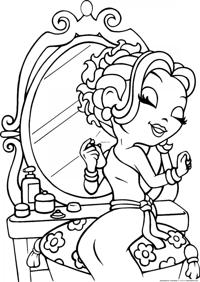 Get This Lisa Frank Coloring Pages for Girls 36918