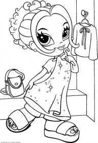Lisa Frank Coloring Pages for Teenage Girls 90875