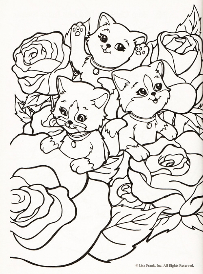 Lisa Frank Coloring Pages to Print for Free   98612