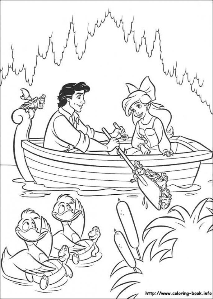 free printable pages of Little Mermaid On-line | Mermaid coloring ... | 960x685