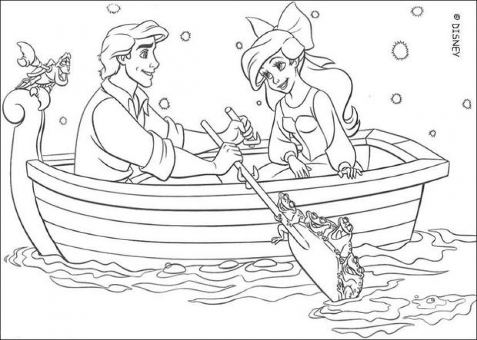 Little Mermaid Coloring Pages Princess Ariel   31502