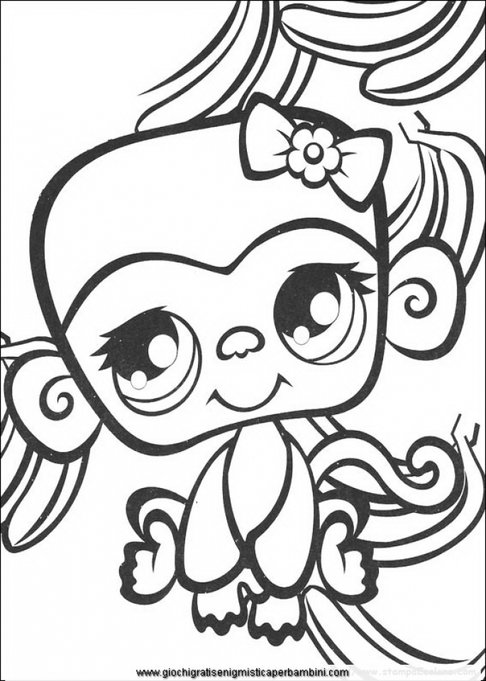 Littlest Pet Shop Coloring Pages to Print Online   14273