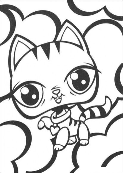 Littlest Pet Shop Coloring Pages to Print Online 37201