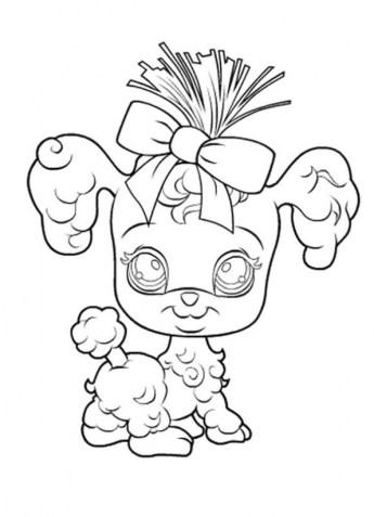 Littlest Pet Shop Kids Printable Coloring Pages 231474