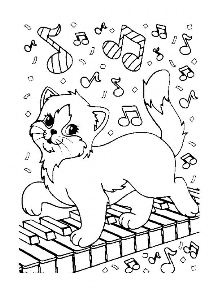 Music Coloring Pages Free to Print   70257