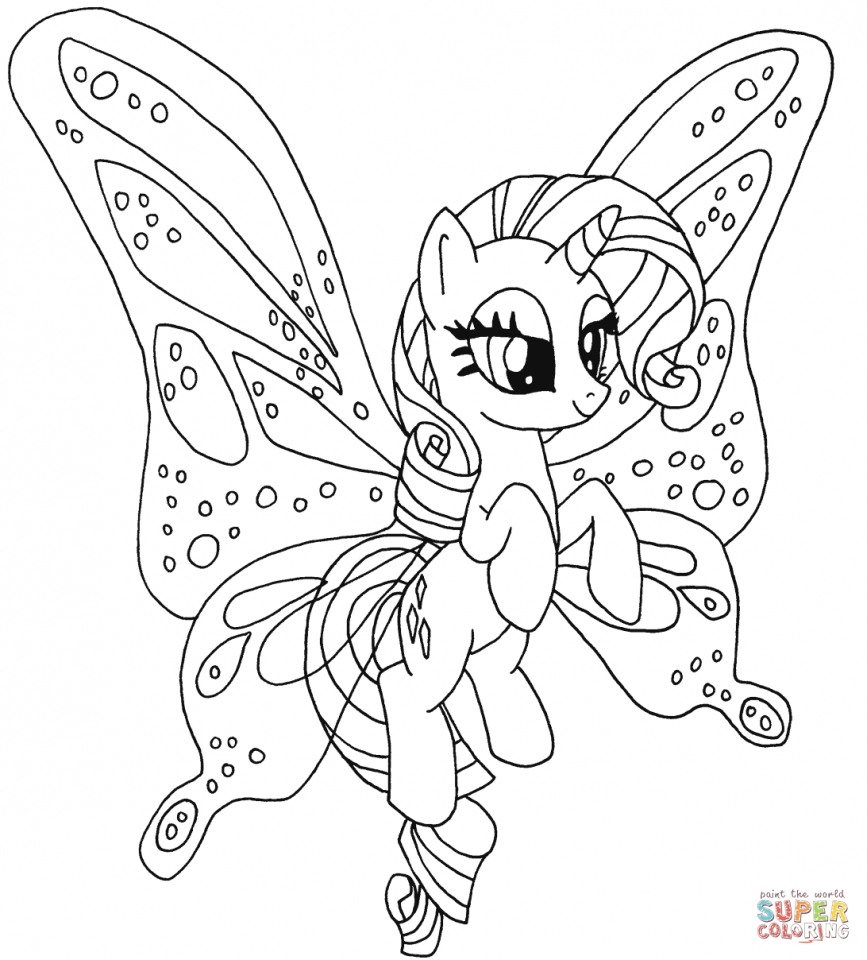 My Little Pony Coloring Pages to Print for Girls   32074