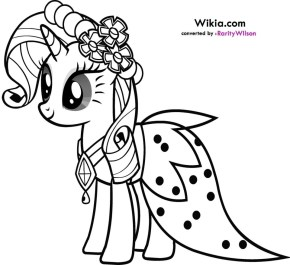 My Little Pony Girls Printable Coloring Pages 50180