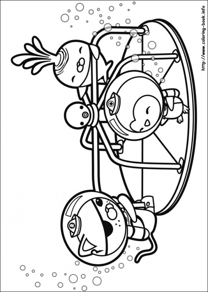 Octonauts Coloring Pages Free   31705