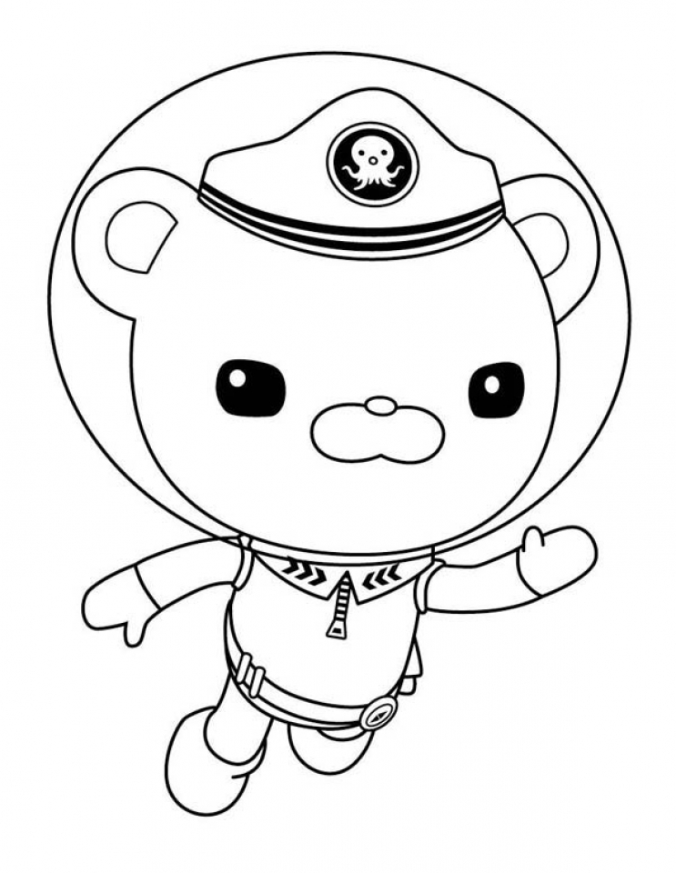 Octonaut Coloring Pages