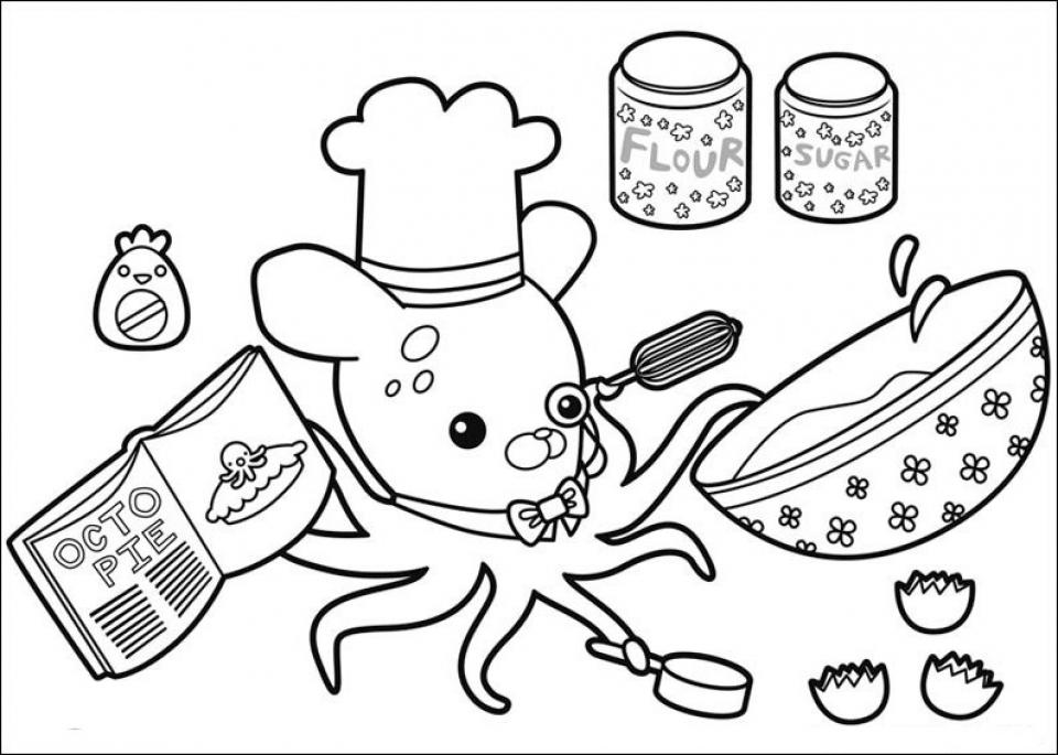 Octonauts Coloring Sheets | Haramiran | 685x960