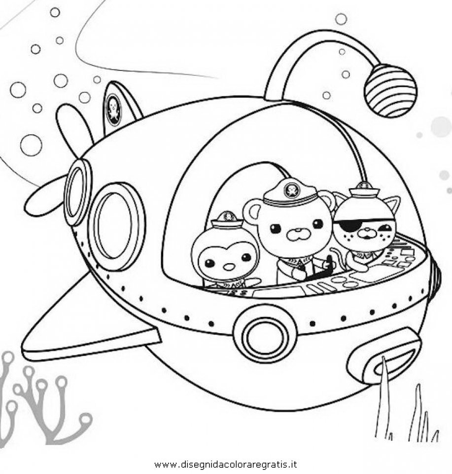 Get This Octonauts Coloring Pages Printable 31729