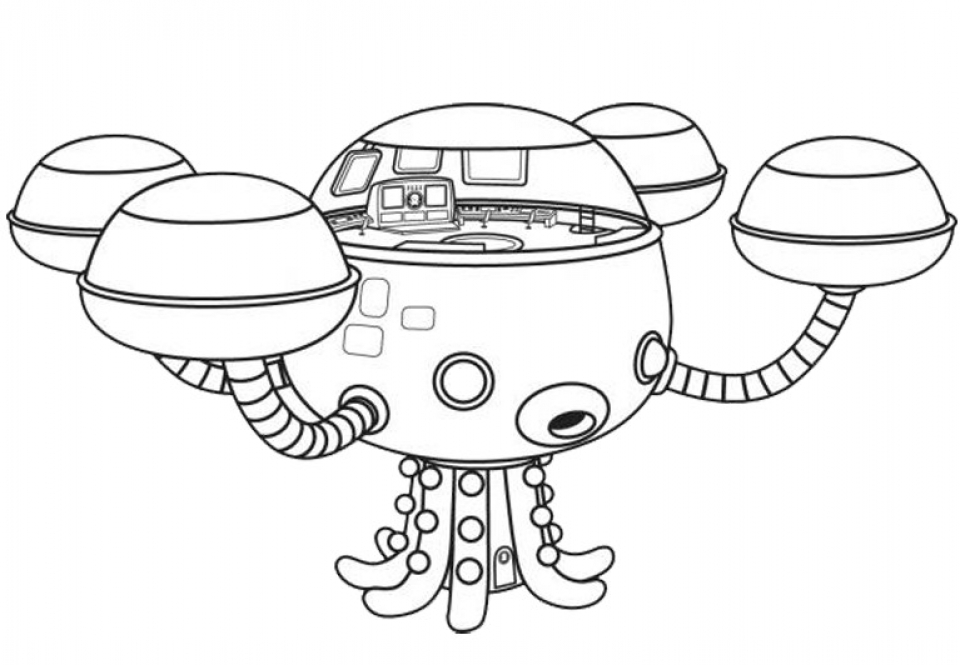 Octonauts Coloring Pages Printable   57957