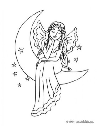 Online Fairy Coloring Pages 83389