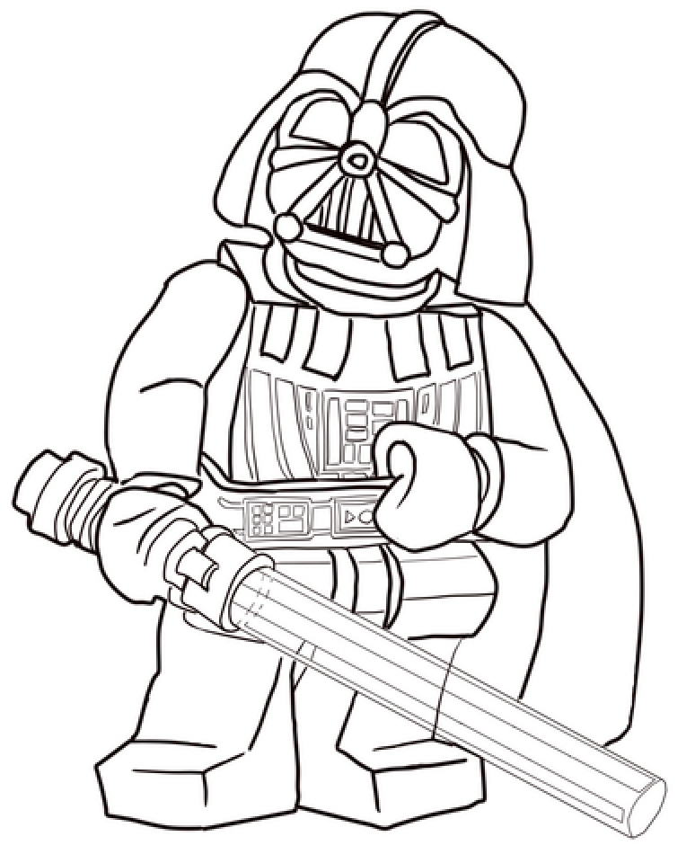 Online Lego Star Wars Coloring Pages   40611