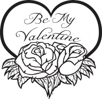Online Valentines Coloring Pages 31409