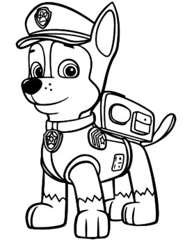 Paw Patrol Coloring Pages for Kids 62893