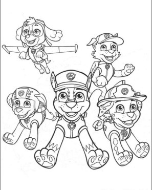 Paw Patrol Coloring Pages Free Printable 17359