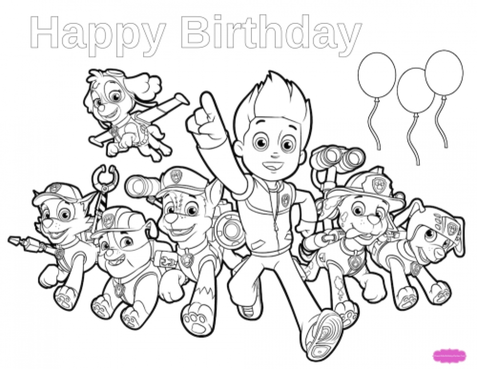 - Get This Paw Patrol Coloring Pages Online For Kids 94627 !