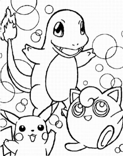 Pokemon Coloring Page Free Printable 17257
