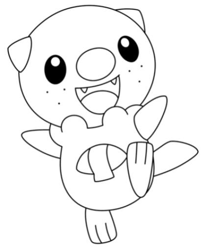 Pokemon Coloring Page Free Printable 27420
