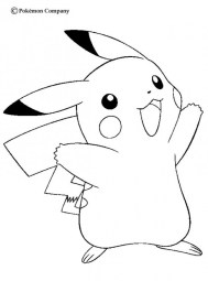 Pokemon Coloring Page Free Printable 4780
