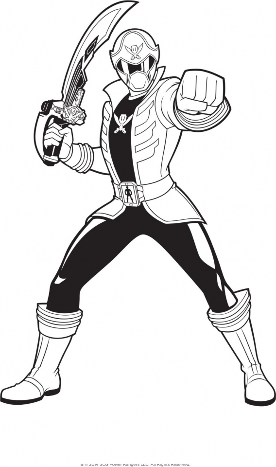 20+ Free Printable Power Rangers Megaforce Coloring Pages
