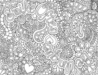 Printable Abstract Coloring Pages Online 06371