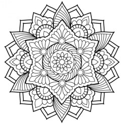 Printable Abstract Coloring Pages Online 42671