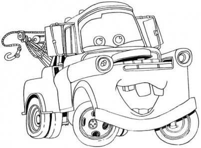 Printable Cars Coloring Pages 1289
