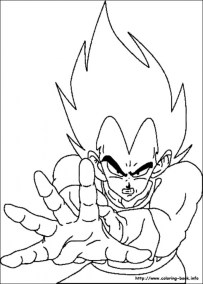 Printable Dragon Ball Z Coloring Pages 55650
