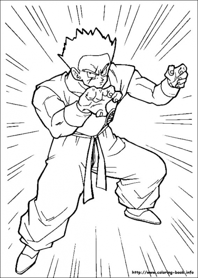 Get This Printable Dragon Ball Z Coloring Pages Online 38854