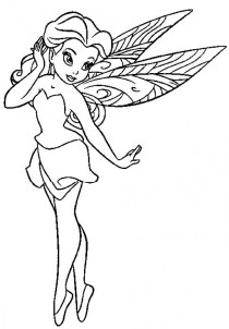 Printable Fairy Coloring Pages 16531