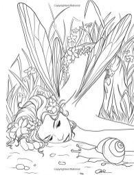 Printable Fairy Coloring Pages Online 63959