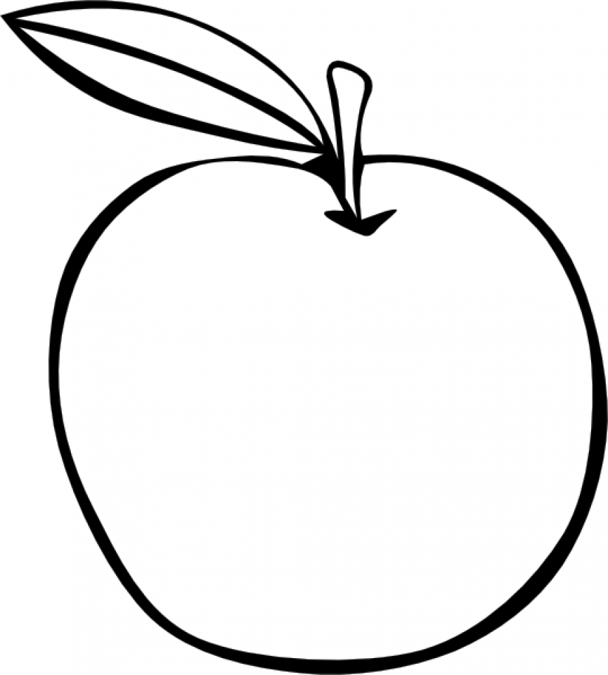 Printable Fruit Coloring Pages Online   3821