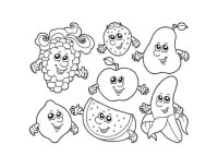 Get This Printable Fruit Coloring Pages Online 85492