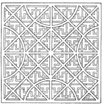 Get This Printable Geometric Coloring Pages 73999