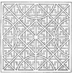 Printable Geometric Coloring Pages 73999