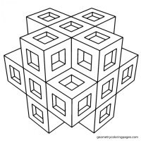 Get This Printable Geometric Coloring Pages Online 63955
