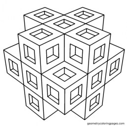 Printable Geometric Coloring Pages Online 63955