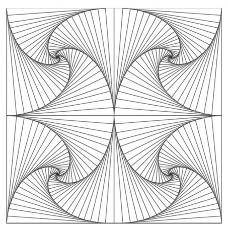 Printable Geometric Coloring Pages Online 76696