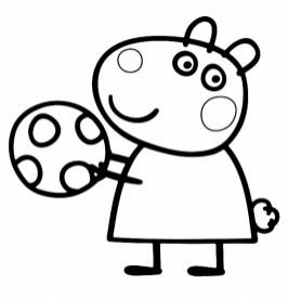Printable Peppa Pig Coloring Pages 74000