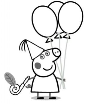 Printable Peppa Pig Coloring Pages Online 71824