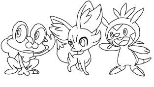 Printable Pokemon Coloring Page 96761