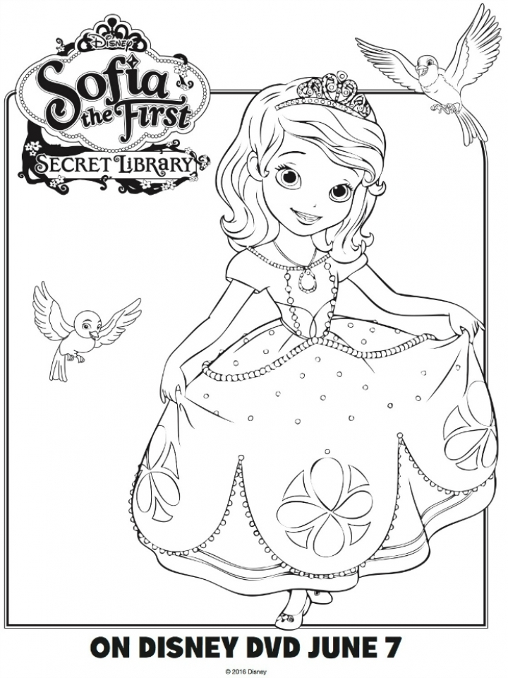 - Get This Printable Sofia The First Princess Coloring Pages For Girls 13216 !