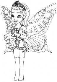 Printable Sofia the First Princess Coloring Pages for Girls 39821