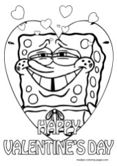 Printable Valentines Coloring Pages Online 83113