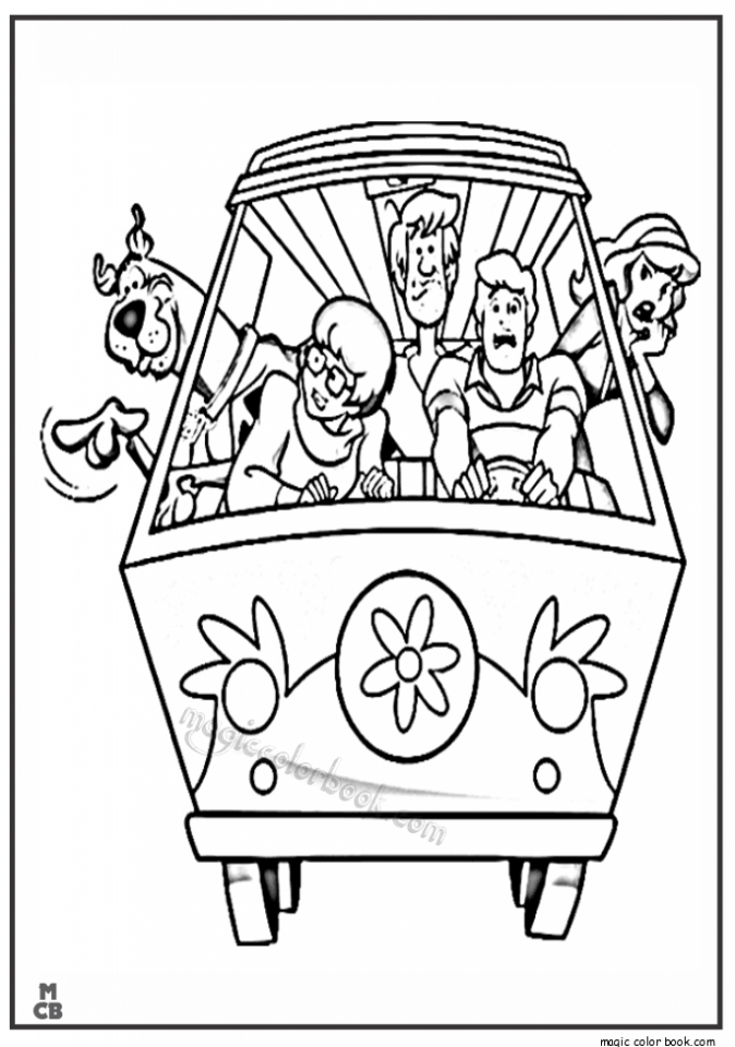 - Get This Scooby Doo Coloring Pages Free Printable 67533 !