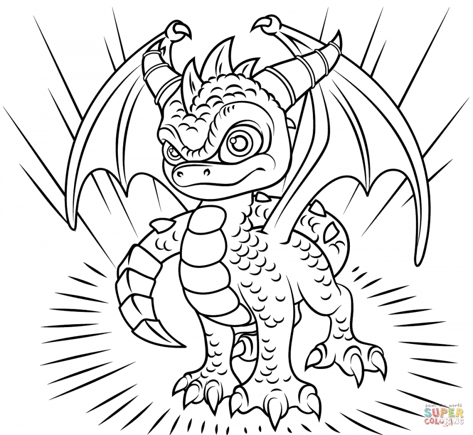 Skylander Coloring Pages for Boys and Girls   41784
