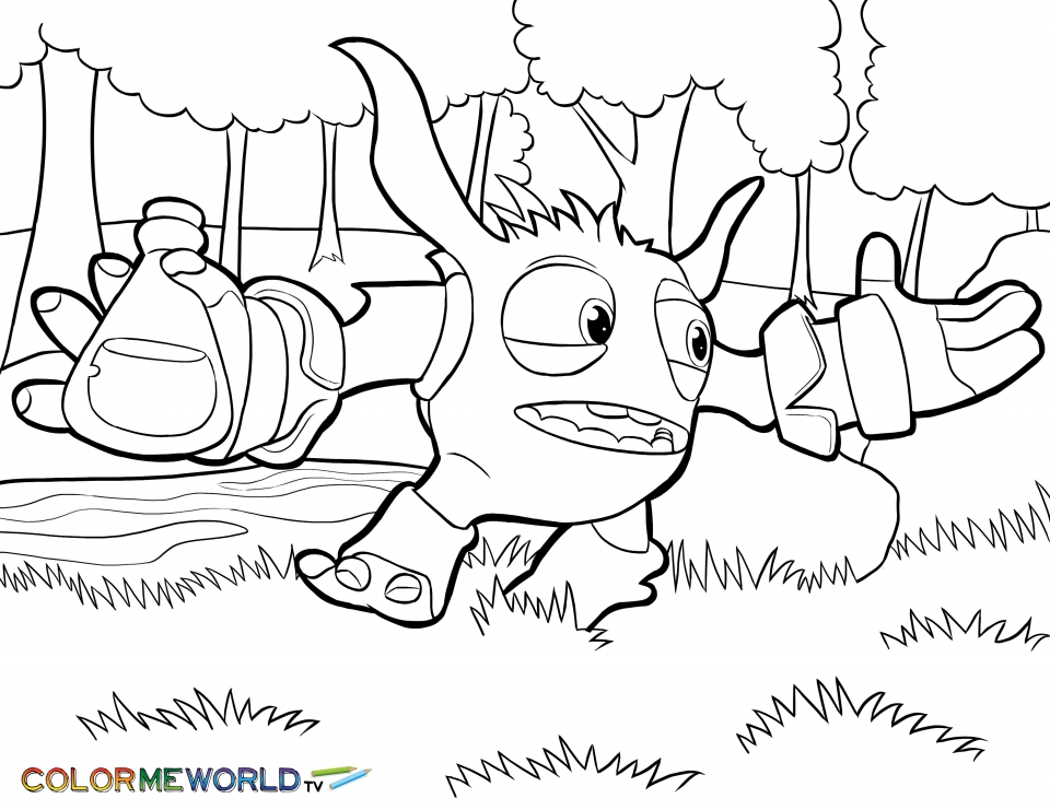 Skylander Coloring Pages for Boys and Girls   56281