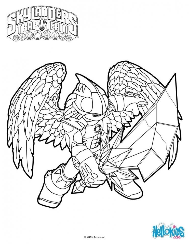 Skylander Coloring Pages to Print   28564